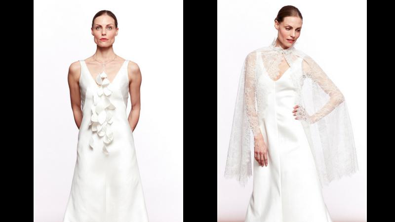 Tessuti super leggeri, forme originali ed eleganti, linee sofisticate ed eclettiche. La collezione di abiti da sposa Annagemma Milano è unica nel suo genere