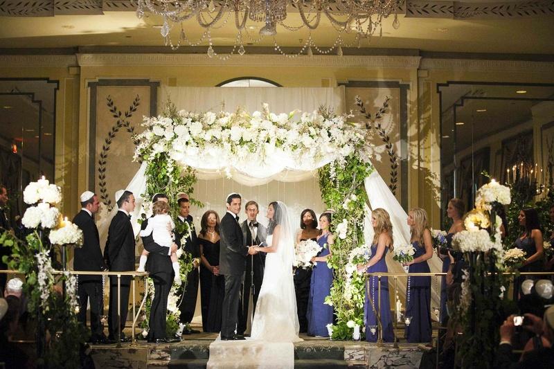 Risultati immagini per jewish ceremony wedding luxury