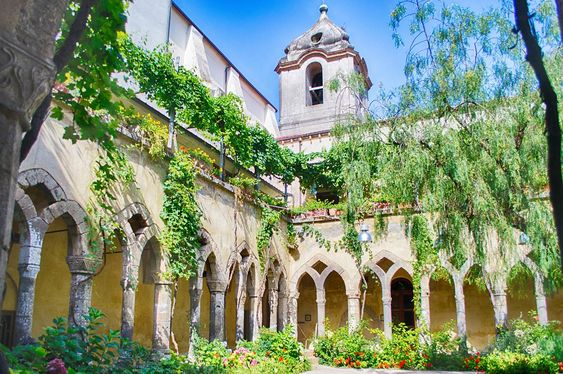 Cloisters of San Francesco d'Assisi Church, Sorrento, Italy