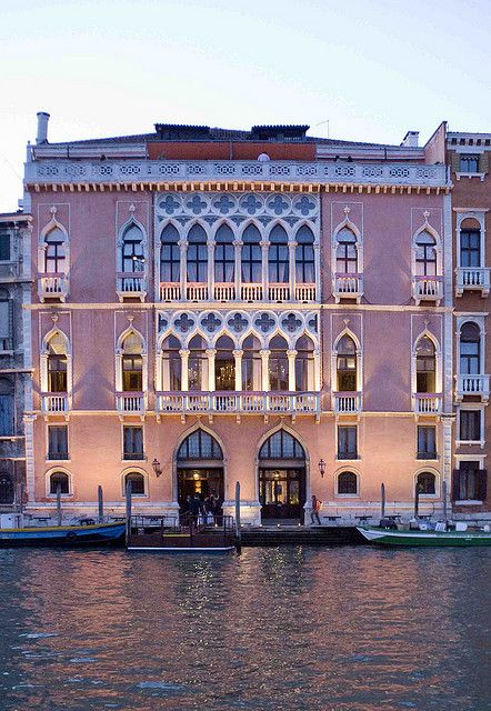 Albergo Danieli, Venezia.