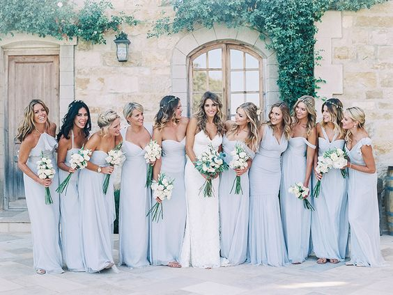 Bridesmaids: tips for a perfect look!
