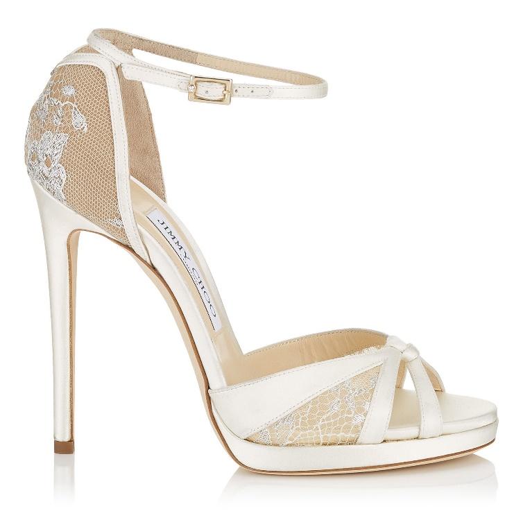 Risultati immagini per scarpe da sposa jimmy choo