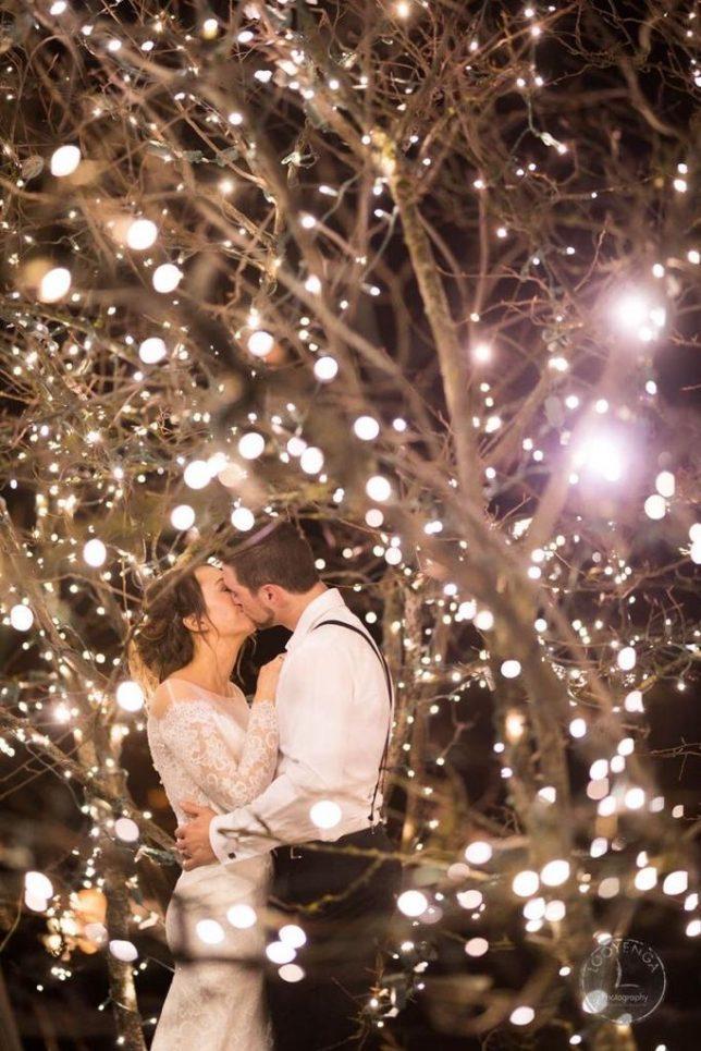 Matrimoni invernali: luci, candele, atmosfera magica e calore irresistibile!