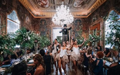 Luxury wedding entertainment: the event in the event!