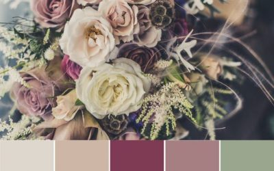 "Wedding color palette: how to color your wedding without any ""smudges""!"
