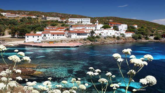 Cala d'Oliva, Asinara, Sardinia, Italy