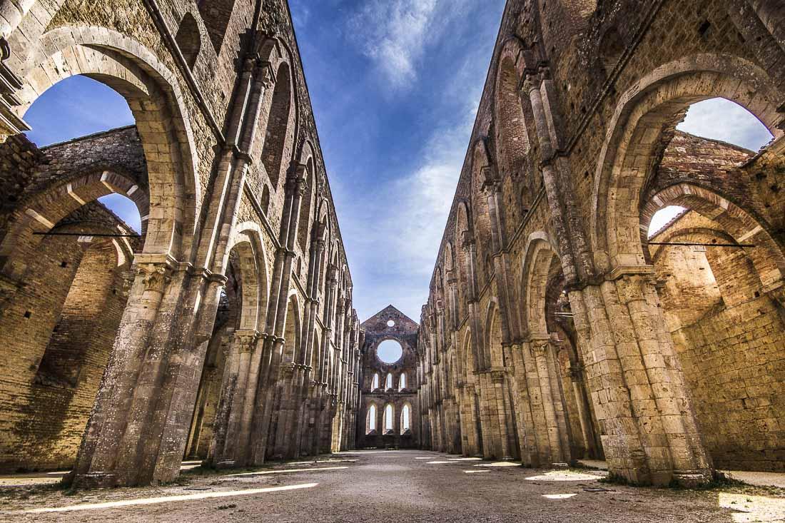 """Risultato immagini per abbazia di san galgano"""""""