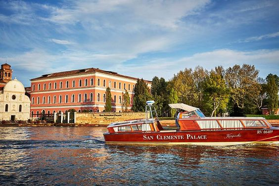 San Clemente Palace Kempinski in Venice Launches New Venetian Spa! #30secondmom