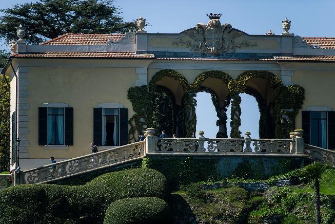 Location stellari: Villa del Balbianello tra fan di Star Wars e ...