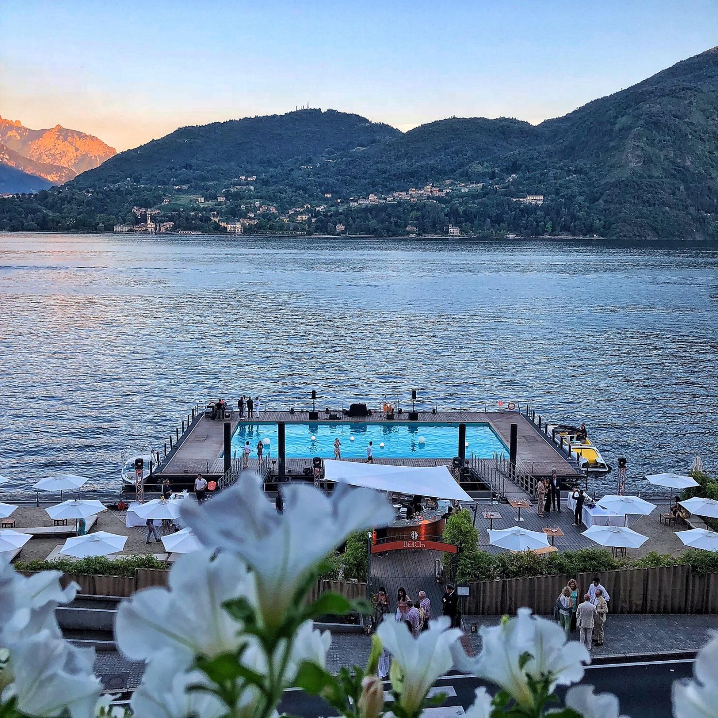 La magia del lago di Como al Grand Hotel Tremezzo | La luna sul ...
