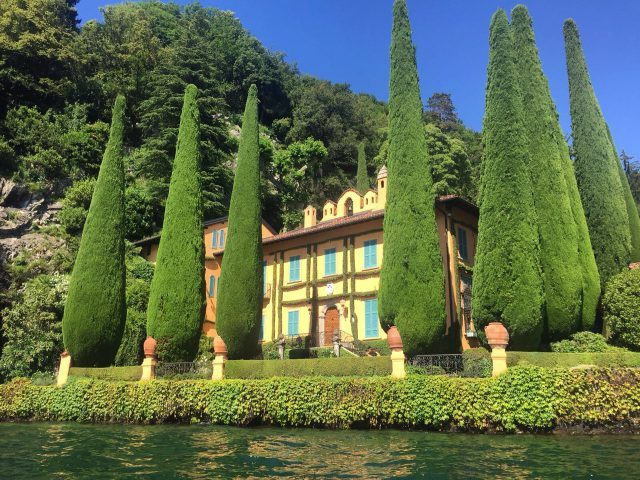 VILLA LA CASSINELLA, LAKE COMO.