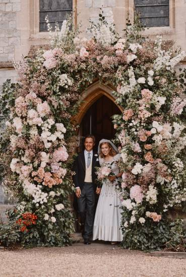 Principessa Beatrice | matrimonio con il vestito in prestito -
