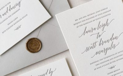 THE FIRST STEP: WEDDING ANNOUNCEMENT AND INVITATION!