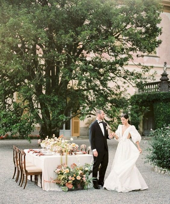 My little wedding: how to organize a cozy but still unforgettable reception (in time of Covid-19).